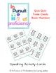 Telephone Number Quiz Quiz Trade Cards (números 0-9)