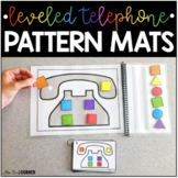 Telephone Pattern Mats ( Leveled and Differentiated! )