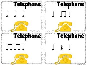 Telephone Rhythms {half note}