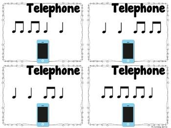 Telephone Rhythms {ta and titi}