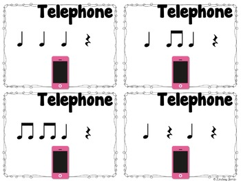 Telephone Rhythms {ta rest}