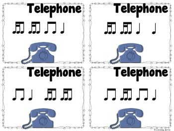 Telephone Rhythms {tiri-ti}