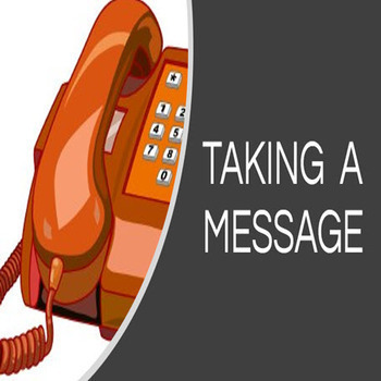 Telephone Skills - Taking A Message