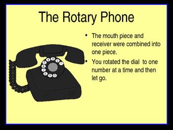 Telephone Timeline - PowerPoint