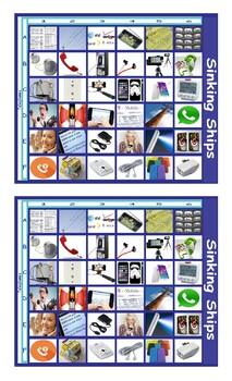 Telephones Battleship Board Game