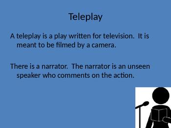 Teleplay vs. Drama