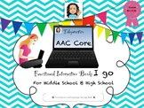 Telepractice/AAC: Core for Middle and High School Students