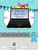 Telepractice-Weather Song Companion with AAC visual support