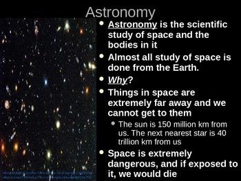 Telescope Notes Powerpoint