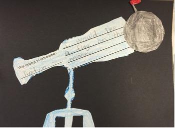 Telescope Writing Craftivity