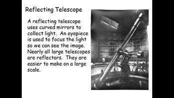 Telescopes - Exploring the Universe