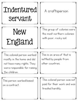 13 Colonies Word Work {Social Studies Vocabulary Practice}