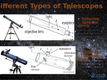 Telescopes & the stars