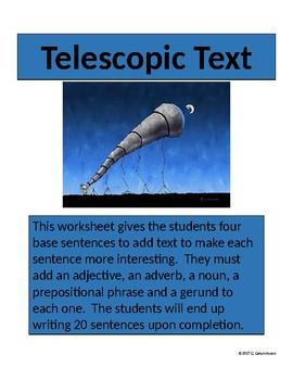 Telescopic Text for Grades 6-9