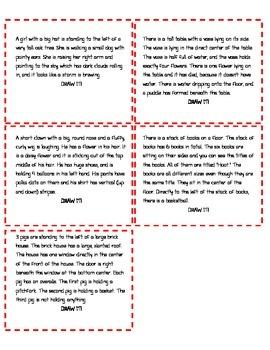 Telestrations Descriptive Writing Game