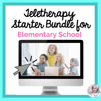 Teletherapy Great Start Bundle NO PRINT Digital Lessons and Resources