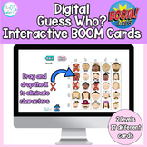Teletherapy Guess Who Game for Visual Perception: BOOM cards
