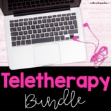 Teletherapy and Distance Learning BUNDLE for Upper Element