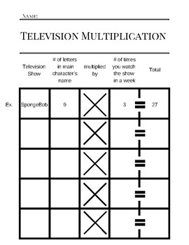 Television Multiplication