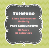 Teléfono - Past Subjunctive - Class Interactive Activity