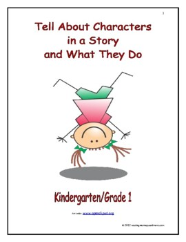 Tell About Characters in a Story and What They Do