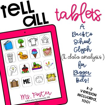 Tell All Tablets: A Back to School Glyph and Data Analysis Exercise