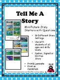 Tell Me A Story-Mini Pictures Cards