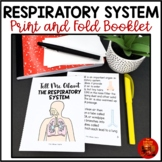 RESPIRATORY SYSTEM Print and Fold Mini Book for Interactive Science Notebooks
