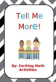 Tell Me More! Beginning of School Icebreaker (Cootie Catcher)