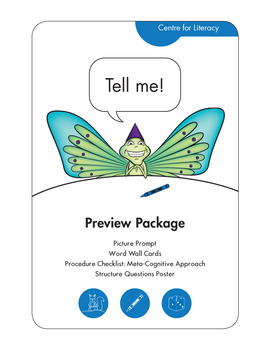 Tell Me! Preview Package: Writing Resource for Elementary Students