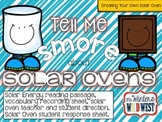 Tell Me S'More About Solar Ovens
