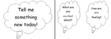 Tell Me Something Question and Sentence Frame Stems