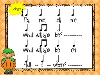 Tell Me, Tell Me! A Halloween Activity for Half Note