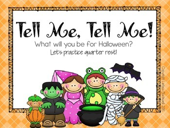 Tell Me, Tell Me! A Halloween Activity for Ta, TiTi, and Ta Rest