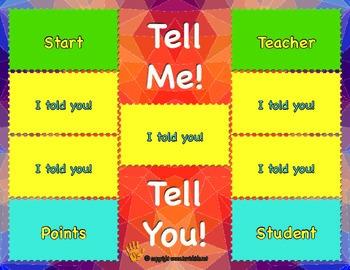 Tell Me! Tell You! Fun Flashcard game