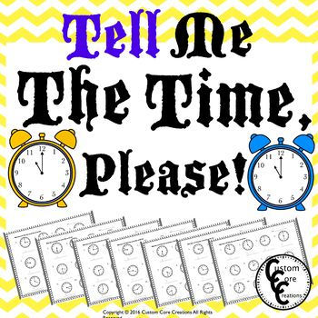 Tell Me The Time, Please!