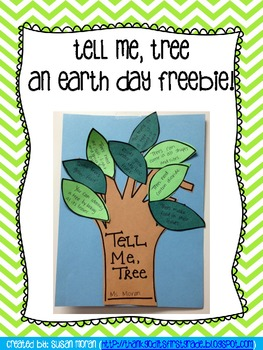 Tell Me, Tree - An Earth Day Freebie!