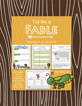 Tell Me a Fable- Resources for RL.2.2