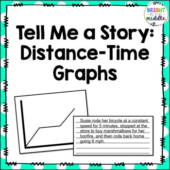 Tell Me a Story: Distance-Time Graphs - 7.P.1.3, 7.P.1.4, and 8.F.5