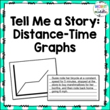 Tell Me a Story: Distance-Time Graphs - 7.P.1.3, 7.P.1.4,