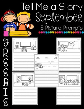 Tell Me a Story- September Picture Prompts Freebie!