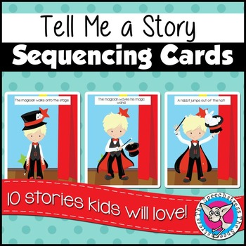 Tell Me a Story Sequencing Cards