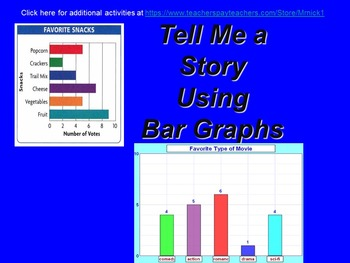 Tell Me a Story using Bar Graphs