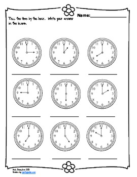 Tell Me the Time!