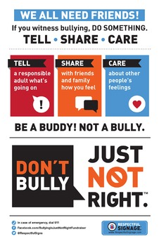 Tell Share Care - Poster