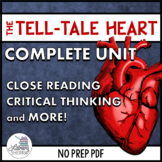 TELL-TALE HEART by Edgar Allan Poe: Short Story Unit and A