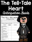 Tell-Tale Heart Anticipation Guide- Edgar Allan Poe; Short Story; Tell Tale