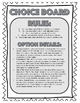 Tell-Tale Heart Choice Board