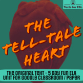 Tell Tale Heart. Close Read Halloween Fun. Full Unit for ELA.
