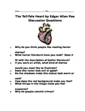 Tell-Tale Heart Discussion Questions